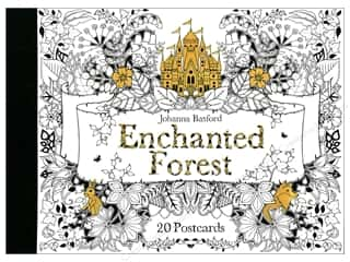 Laurence King Publishing Enchanted Forest Coloring Postcards