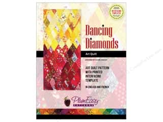 PlumEasy Dancing Diamonds Art Quilt Pattern