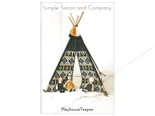 Simple Simon & Co Playhouse Teepee Pattern