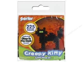 beading & jewelry making supplies: Perler Fused Bead Kit Creepy Kitty