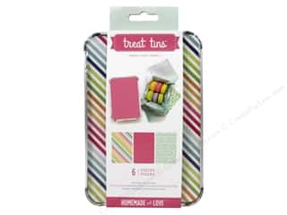 craft & hobbies: American Crafts Treat Tins 3 pc. Large Summer 2