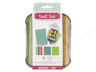 American Crafts Treat Tins 3 pc. Small Summer 2