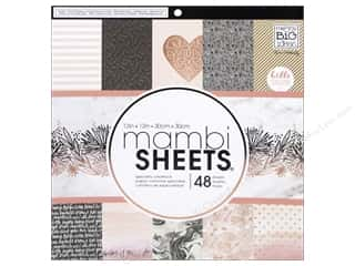 books & patterns: Me & My Big Ideas Sheets 12 x 12 in. Cardstock Pad Rose Gold