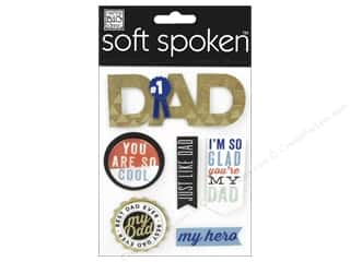 Me&My Big Ideas Sticker Soft Spoken Just Like Dad