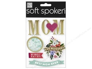 Me&My Big Ideas Sticker Soft Spoken Heart Mom