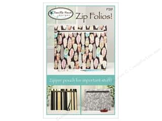 Vanilla House Zip Folios Pattern