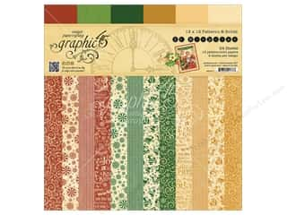 Graphic 45: Graphic 45 12 x 12 in. Paper Pad St Nicholas