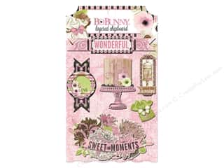 Bo Bunny Layered Chipboard Stickers Sweet Moments