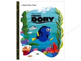 books & patterns: Golden Disney Finding Dory Book