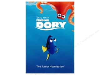 books & patterns: Disney Finding Dory Junior Novelization Book