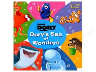 books & patterns: Disney Finding Dory Dory's Sea of Wonders Book