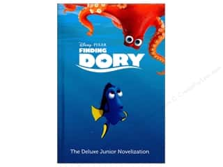 books & patterns: Disney Finding Dory Deluxe Junior Novelization Book