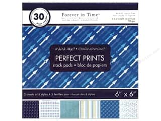 "patterned paper: Multicraft Stack Pad 6""x 6"" Perfect Prints Which Way"