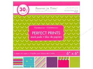 "patterned paper: Multicraft Stack Pad 6""x 6"" Perfect Prints Celebration"