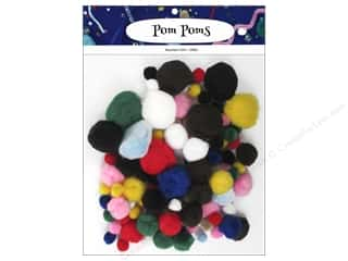 PA Essentials Pom Poms Variety Pack 100 pc. Assorted (3 pieces)