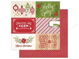 Echo Park 12 x 12 in. Paper I Love Christmas 4x6 Journal Cards (25 sheets)