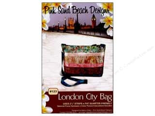 books & patterns: Pink Sand Beach Designs London City Bag Pattern
