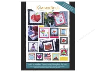 books & patterns: Sew By Number Paper Piecing Throughout Year Book by KimberBell
