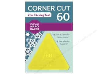 C&T Publishing Corner Cut 60 - 2-in-1 Sewing Tool