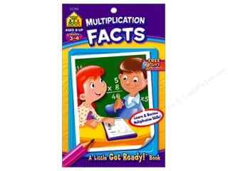 books & patterns: School Zone Little Get Ready! Multiplication Facts Book