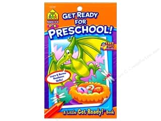 books & patterns: School Zone Little Get Ready! Get Ready For Preschool Book