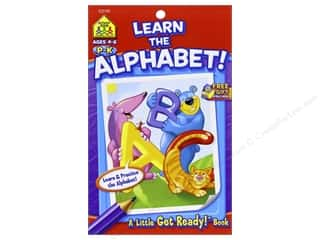 School Zone Little Get Ready! Learn The Alphabet Book Picture