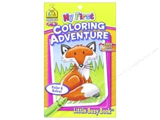 School Zone Little Busy Book My First Coloring Adventure Book