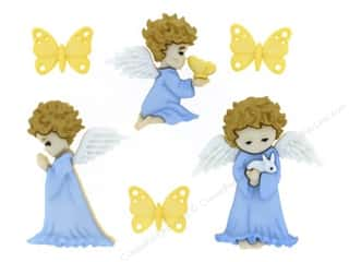 scrapbooking & paper crafts: Jesse James Dress It Up Embellishments Cherished Angels