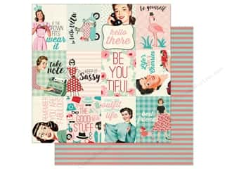 Authentique 12 x 12 in. Paper Fabulous Twelve (25 sheets)