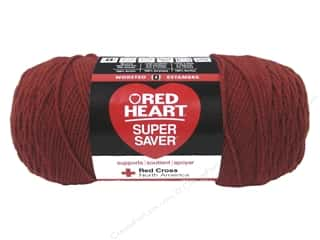 yarn & needlework: Red Heart Super Saver Yarn #265 Redwood 364 yd.