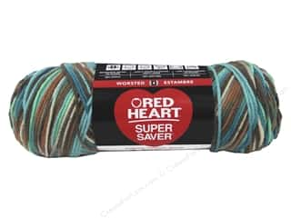 Red Heart Super Saver Yarn 236 yd. #3949 Reef