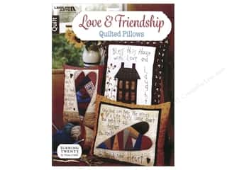 Love & Friendship Quilted Pillows Book by Tricia Cribbs