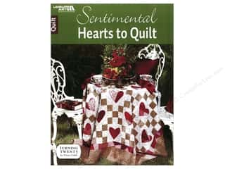 books & patterns: Sentimental Hearts To Quilt Book by Tricia Cribbs