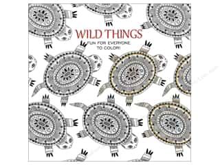 Leisure Arts Wild Things Coloring Book