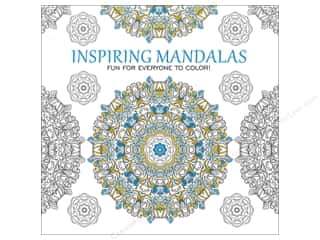 Leisure Arts Inspiring Mandalas Coloring Book