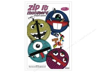 Eazy Peazy Zip It Monsters Treasure Keepers Pattern