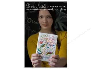 Alison Glass Clover Sunshine Needle Book Embroidery Panel Pattern