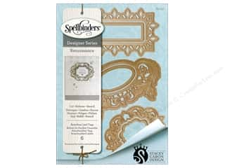 die cutting machines: Spellbinders Die Shapeabilities Acanthus Tags