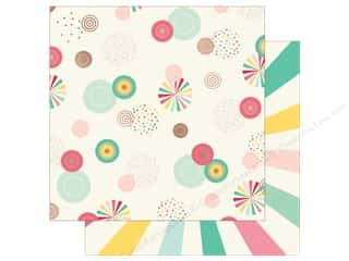 scrapbooking & paper crafts: My Mind's Eye 12 x 12 in. Paper Hooray You Radiate (25 sheets)