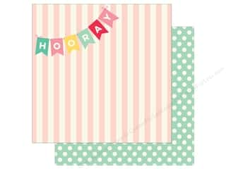 scrapbooking & paper crafts: My Mind's Eye 12 x 12 in. Paper Hooray Say Hooray (25 sheets)