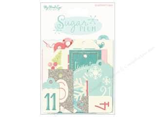 My Mind's Eye Sugar Plum Collection Advent Tags
