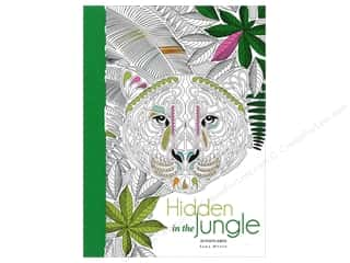 books & patterns: Lark Hidden In The Jungle Coloring Postcards 20pc