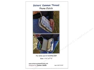 books & patterns: Sisters' Common Thread Phone Clutch Pattern
