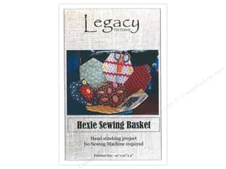 books & patterns: Legacy Hexie Sewing Basket Pattern