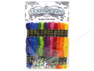 Design Works Zenbroidery Trim Pack Floss Brights