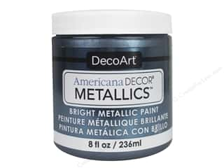 craft & hobbies: DecoArt Americana Decor Metallics - Pewter 8 oz.