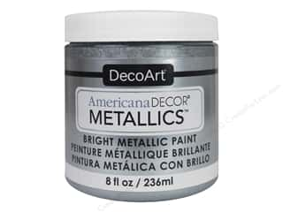 craft & hobbies: DecoArt Americana Decor Metallics 8 oz. Silver