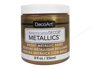DecoArt Americana Decor Metallics 8 oz. Old Gold