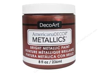 craft & hobbies: DecoArt Americana Decor Metallics 8 oz. Copper