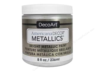 craft & hobbies: DecoArt Americana Decor Metallics 8 oz. Pearl